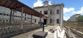 Restauração do antigo prédio da Central do Brasil é iniciada em Barra do Piraí