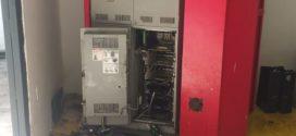 Ladrões arrombam caixa eletrônico instalado em colégio e levam cerca de R$ 68 mil em Volta Redonda
