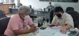 Marcelo Cabeleireiro se reúne com Neto