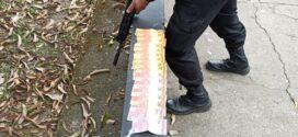 PM detém jovem com drogas e dinheiro em Resende