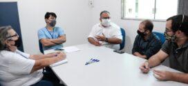 Saae-BM e prefeitura debatem sobre recursos para investimentos em esgotamento sanitário