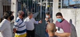 Deputado federal Ricardo da Karol visita Rio Claro