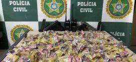 Policiais civis prendem suspeito com drogas e armas no Açude em Volta Redonda