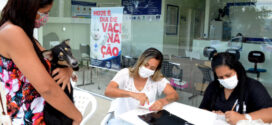 Nova etapa da vacinação antirrábica 2021 é realizada em Resende