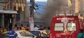 Corpo de Bombeiros controla princípio de incêndio em supermercado de Barra Mansa