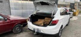 Suspeitos são detidos em depósito de loja em Barra Mansa