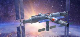 Chineses inauguram sua nova estação espacial