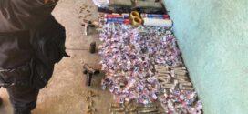 PM estoura depósitos de drogas e prende cinco pessoas em Volta Redonda