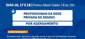 Barra do Piraí amplia a oferta de vacinas contra a Covid-19 junto aos profissionais de educação
