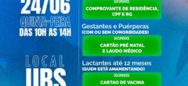 Prefeitura de Valença começa a vacinar contra a Covid-19 os moradores de Pentagna