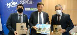 Secretário Wanderson Farias busca, em Brasília, apoio do Ministério do Turismo e da Embratur