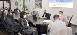 Rodrigo Drable apresenta a vereadores projeto sobre o Rio Barra Mansa