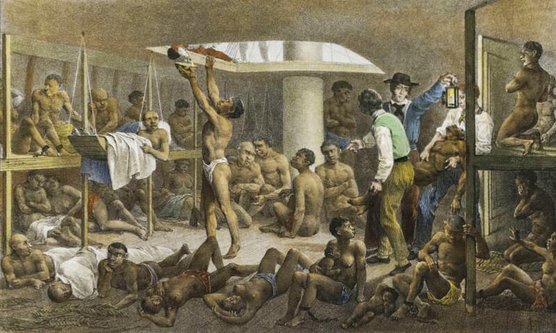 Em 1850 o Brasil aprovou a Lei Eusébio de Queiroz, que proibia o tráfico de escravos no Brasil