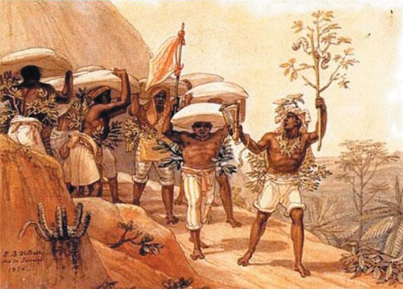 Usando escravos, café enriqueceu fazendeiros da região