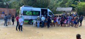 Cras vai a aldeia indígena em Angra dos Reis