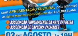 Prefeitura de Pinheiral realiza apresentação cultural em alusão ao Dia Nacional da Capoeira