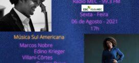 Pianista de VR realiza duo em programa de rádio com Iberê Carvalho