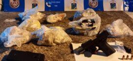 Dupla é presa em Barra do Piraí suspeita de trocar tiros com PMs