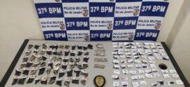 Polícia Militar apreende drogas em Resende após fuga de suspeitos