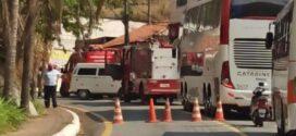 Seis pessoas ficam feridas em acidente no bairro Abelhas, em Barra Mansa