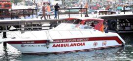 Lancha para resgate médicos começa a operar em Angra