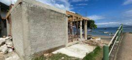 Polícia ambiental flagra suposta construção irregular na Ilha Grande