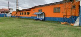 Estádio Municipal Antônio Corrêa  recebe serviços de manutenção e pintura