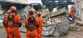 Governo do Estado atua no desabamento de prédio de três andares em Nilópolis