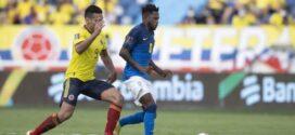 Brasil e Colômbia ficam no 0 a 0