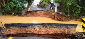 Chuva provoca estragos em Itatiaia