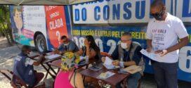 OAB e Ônibus de Defesa do Consumidor da Alerj atendem moradores de Volta Redonda